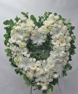 open Heart in white