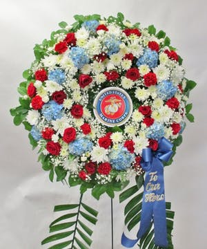 Marine Corp  Wreath