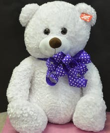 Huge White Stuffed Bear