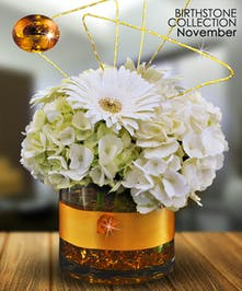 Citrine is the gemstone for November and was believed to have magical powers!