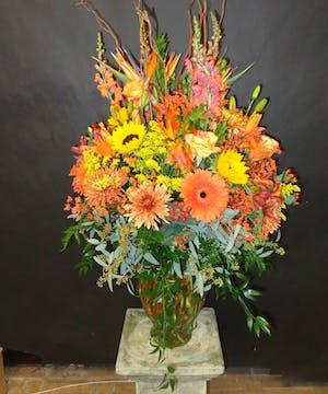 Fall Large Vase