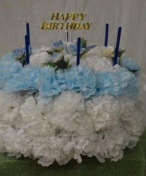 SILK BIRTHDAY CAKE/Cemetery