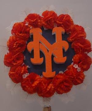 New York Mets Emblem/Cemetery