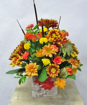moravian  Autumn Bouquet