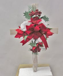Chrsitmas  Wooden Cross
