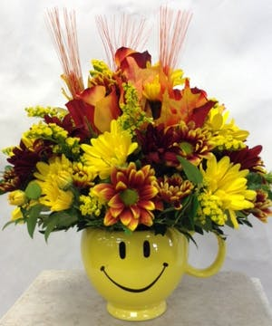 Be Happy Bouquet -Fall