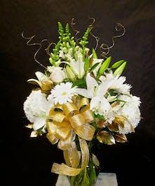 Golden Anniversary Vase