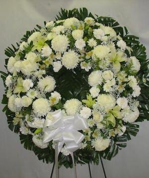 Wreath of White