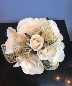 Gold Silk Bouquet