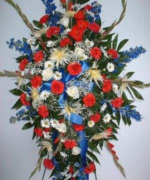 Standing Patriotic Tribute