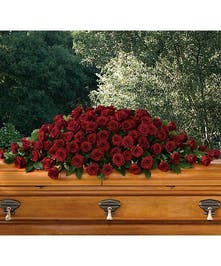 Casket Cover Greatest love