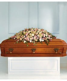 Casket Cover Always Adored