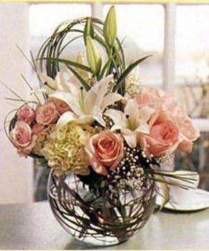Lilies & Roses in modern style design