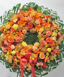 Autumn memories wreath