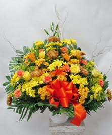 fall Standing Basket