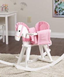 Rocking horse -pink